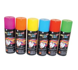 Slika za kategoriju Sprej za kosu u boji
