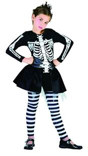 Picture of SKELETON, girl's costume
