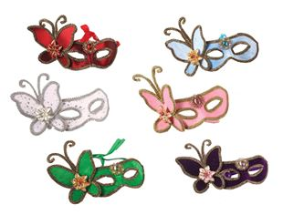 Picture of VENETIAN EYE MASK WITH BUTTERFLY