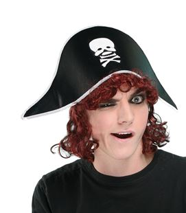 Picture of PIRATE'S HAT WITH HAIR