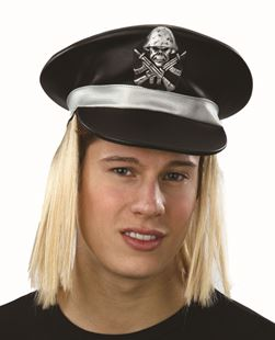 Picture of BIKER CAP WITH HAIR