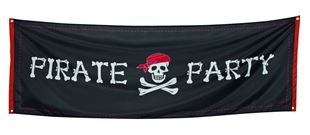 Picture of BANNER 'PIRATE PARTY' (220 X 74 CM)