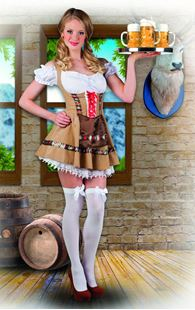 Picture of ADULT COSTUME ALPINE MAID (36/38)