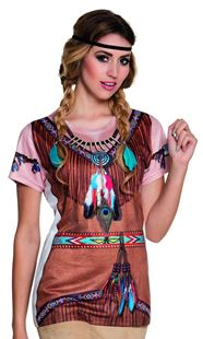 Picture of PHOTOREALISTIC SHIRT INDIAN SQUAW