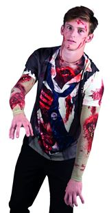 Picture of PHOTOREALISTIC SHIRT ZOMBIE