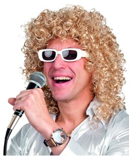 Picture of WIG SINGER WITH GLASSES