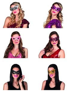 Picture of EYE MASK SEQUINS
