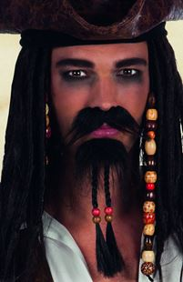 Picture of SET MOUSTACHE AND GOATEE PIRATE