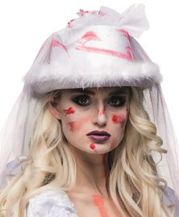 Picture of HAT HORROR BRIDE WITH VEIL