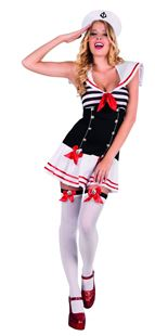 Picture of ADULT COSTUME DARLING SAILOR
