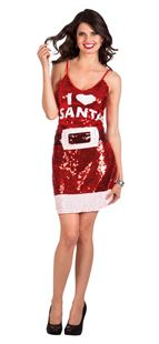 Picture of DRESS  'I love Santa'