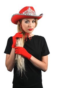 Picture of COWBOY HAT WITH TIARA