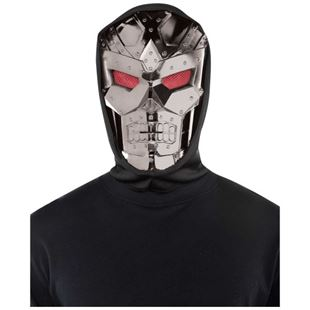 Picture of Hooded Mask Dark Robot