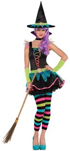 Picture of Children's Costume Neon Witch