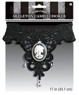 Picture of Ogrilca CHOKER  Black & Bone