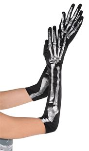 Picture of Gloves Black & Bone long