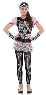 Picture of Children's Costume Sassy Skeleton 12 - 14 Years
