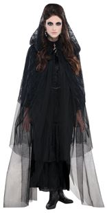 Picture of Hooded Cape Gothic Lace